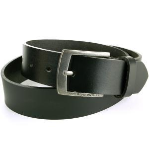 Alpine Swiss Men's Casual Jean Belt 35MM Genuine Dakota Leather