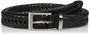 Dockers Men's 1 1/4 in. Laced Braid Metal Logo Belt