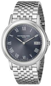 """Raymond Weil Men's 5466-ST-00608 """"Tradition"""" Stainless Steel Watch"""