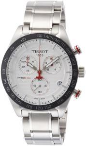 Tissot PRS 516 Quartz Chronograph T100.417.11.031.00 Silver/Silver Stainless Steel Analog Quartz