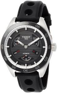 Tissot PRS 516 Automatic Black Dial Mens Watch T100.428.16.051.00