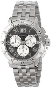 Raymond Weil Men's 4899-ST-00668 Tango Analog Display Swiss Quartz Silver Watch