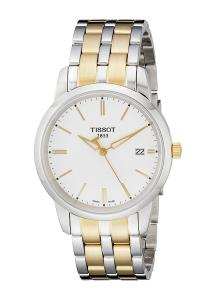 Tissot Men's T033.410.22.011.00 White Dial Classic Dream Watch