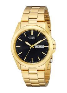 Citizen Men's BF0582-51F Analog Display Japanese Quartz Gold Watch