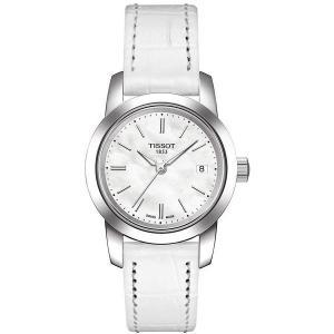 Tissot Women's T0332101611100 Classic Dream Analog Quart z White Watch