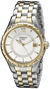 Tissot Women's TIST0722102203800 T-Lady Analog Display Swiss Quartz Two Tone Watch