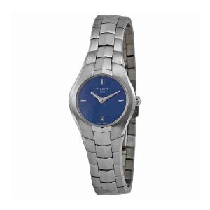 Tissot T Trend T Round Blue Dial Stainless Steel Ladies Watch T0960091113100