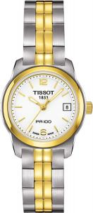 Tissot PR 100 White PVD Quartz Women's watch #T049.210.22.017.00