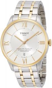 Tissot Chemin Des Tourelles Automatic Silver Dial Two-tone Mens Watch T099.408.22.038.00