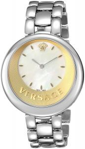 Versace Women's 'PERPETUELLE' Swiss Quartz Stainless Steel Casual Watch, Color:Silver-Toned (Model: VAQ070016)