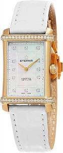 Eterna Contessa Women's Mother Of Pearl Dial Swiss Rose Gold Diamond Watch 2410.77.67.1224