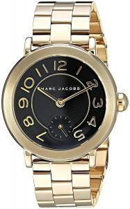 Marc Jacobs Women's Riley Gold-Tone Watch - MJ3512