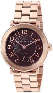 Marc Jacobs Women's Riley Rose Gold-Tone Analog Quartz Casual Watch - MJ3489