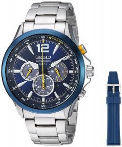 Seiko Jimmie Johnson Special Edition Solar Chronograph Watch