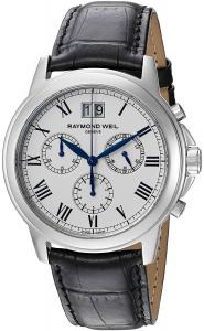 Raymond Weil Men's 4476-STC-00300 Analog Display Quartz Black Watch