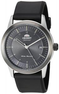 Orient Men's 'Sentinel' Japanese Automatic Stainless Steel and Rubber Casual Watch, Color:Black (Model: FAC05003B0)