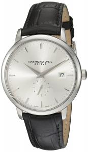 Raymond Weil Men's 5484-STC-65001 Analog Display Quartz Black Watch