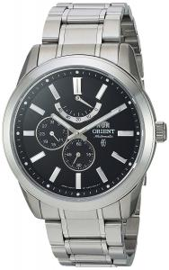 Orient Men's 'Regent' Japanese Automatic Stainless Steel Dress Watch, Color:Silver-Toned (Model: FEZ08001B0)