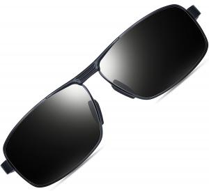 ATTCL Men's Metal Frame Driving Sport Polarized Sunglasses For Men