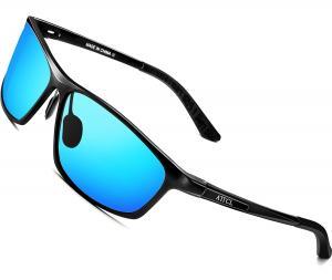 ATTCL Men's Polarized Driving Fishing Golf Sunglasses Al-Mg Metal Frame Ultra Light
