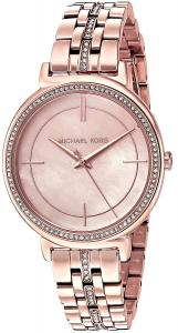 Michael Kors Watches Cinthia Stainless-Steel Three-Hand Watch