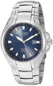 Đồng hồ Citizen Men's Eco-Drive Titanium Watch with Date, BM7170-53L