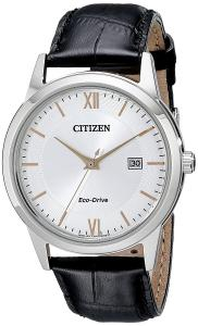 Đồng hồ Citizen Men's Eco-Drive Stainless Steel Watch with Date, AW1236-03A