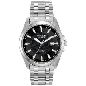 Đồng hồ Citizen Men's Eco-Drive Stainless Steel Dress Watch with Date, BM7100-59E