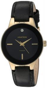 Đồng hồ Armitron Women's 75/5410 Diamond-Accented Leather Strap Watch