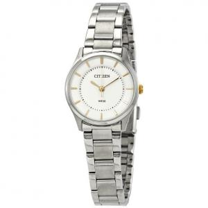 Đồng hồ Citizen Quartz Silver Dial Ladies Watch ER0201-56B