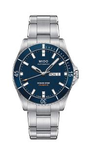 Đồng hồ Mido Men's M026.430.11.041.00 Ocean Star  Analog  Automatic Blue / Silver Stainless Steel Watch