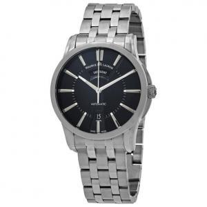 Đồng hồ Maurice Lacroix Pontos Day Date Black Dial Men's Watch PT6158-SS002-33E