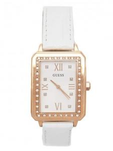 Đồng hồ GUESS Factory Women's White and Rose Gold-Tone Analog Watch U0841L5M