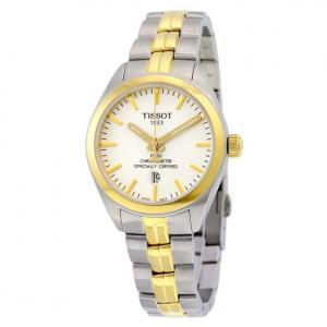 Đồng hồ Tissot PR 100 Quartz COSC Lady White Dial Ladies Watch T101.251.22.031.00