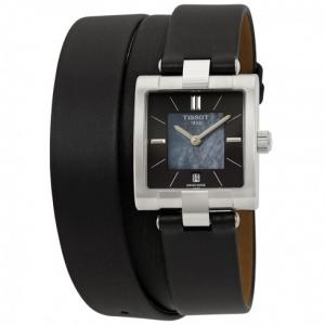Đồng hồ Tissot T-Collection Black Mother of Pearl Dial Ladies Watch T090.310.17.051.00