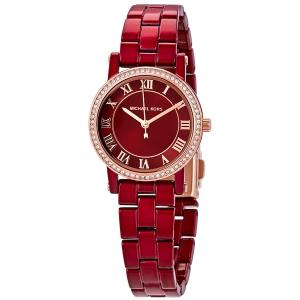 Đồng hồ Micheal Kors Norie Crystal Red Dial Ladies Watch MK3896