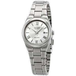 Đồng hồ nữ Citizen Silver Dial Ladies Watch EU3060-51A