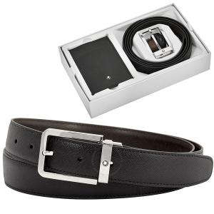 Small Leather Goods and Belt Gift Set