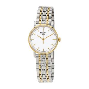 Đồng hồ nữ Tissot T-Classic Everytime White Dial Ladies Watch T109.210.22.031.00