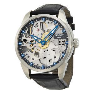 Đồng hồ Tissot T-Complication Squelette Mặt Tròn Dây Da Màu Đen T070.405.16.411.00